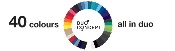 40 colours all in duo