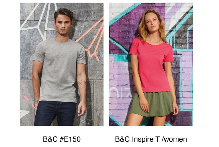 B&C #E150 - Inspire T/women